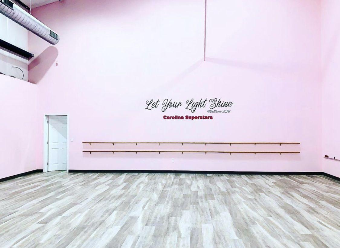 dance studio lobby